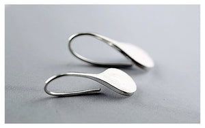 Leaf Earrings 925 Sterling Silver - HiMayura