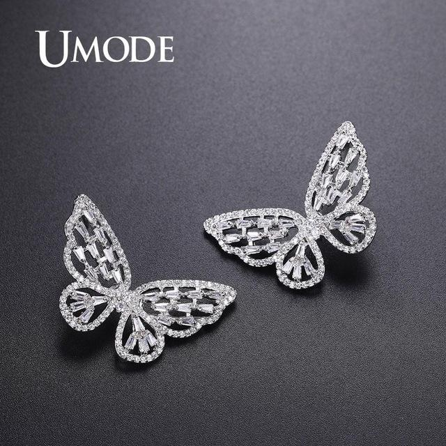Butterfly Earrings- Cute stud Earrings - Thamaras