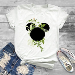 Minimalist Cartoon Tee Shirts -Graphic Tee - HiMayura
