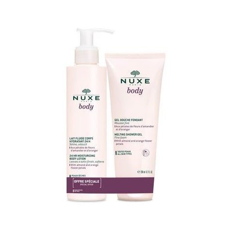 Nuxe Body Lotion 400ml and Shower gel 200ml