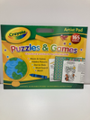 Crayola Puzzles and Games Artist Pad