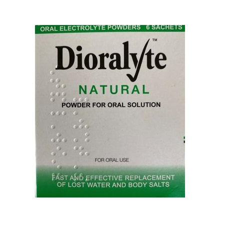 Dioralyte Natural Oral Solution 6 Sachets