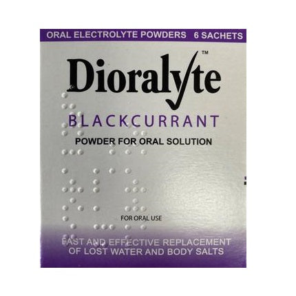 Dioralyte Blackcurrant  6 Sachets