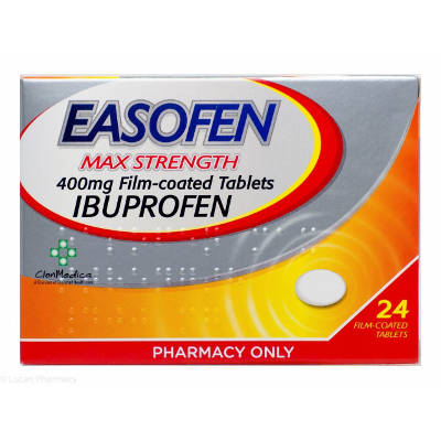 Easofen Max Strength 24 tablets