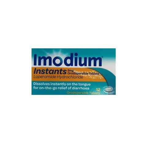 Imodium instants 12 Tablets