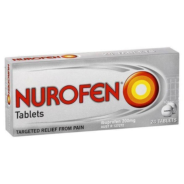 Nurofen 200mg tablets 24's
