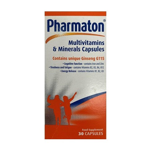 Pharmaton Multivitamin 30 capsules