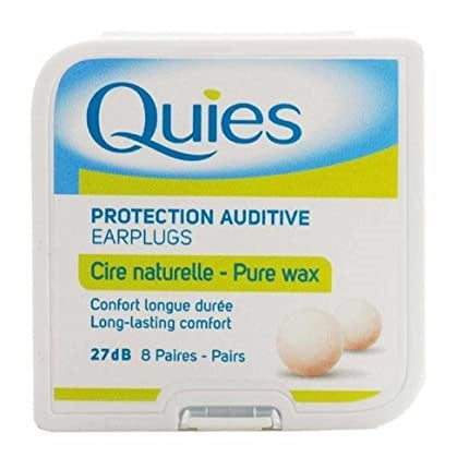 Quies Earplugs 8 pack