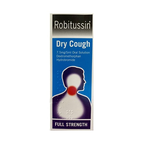 Robitussin Dry Cough Oral solution 100ml