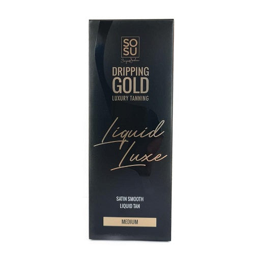 SOSU Dripping Gold Luxury Tanning Liquid Luxe Medium