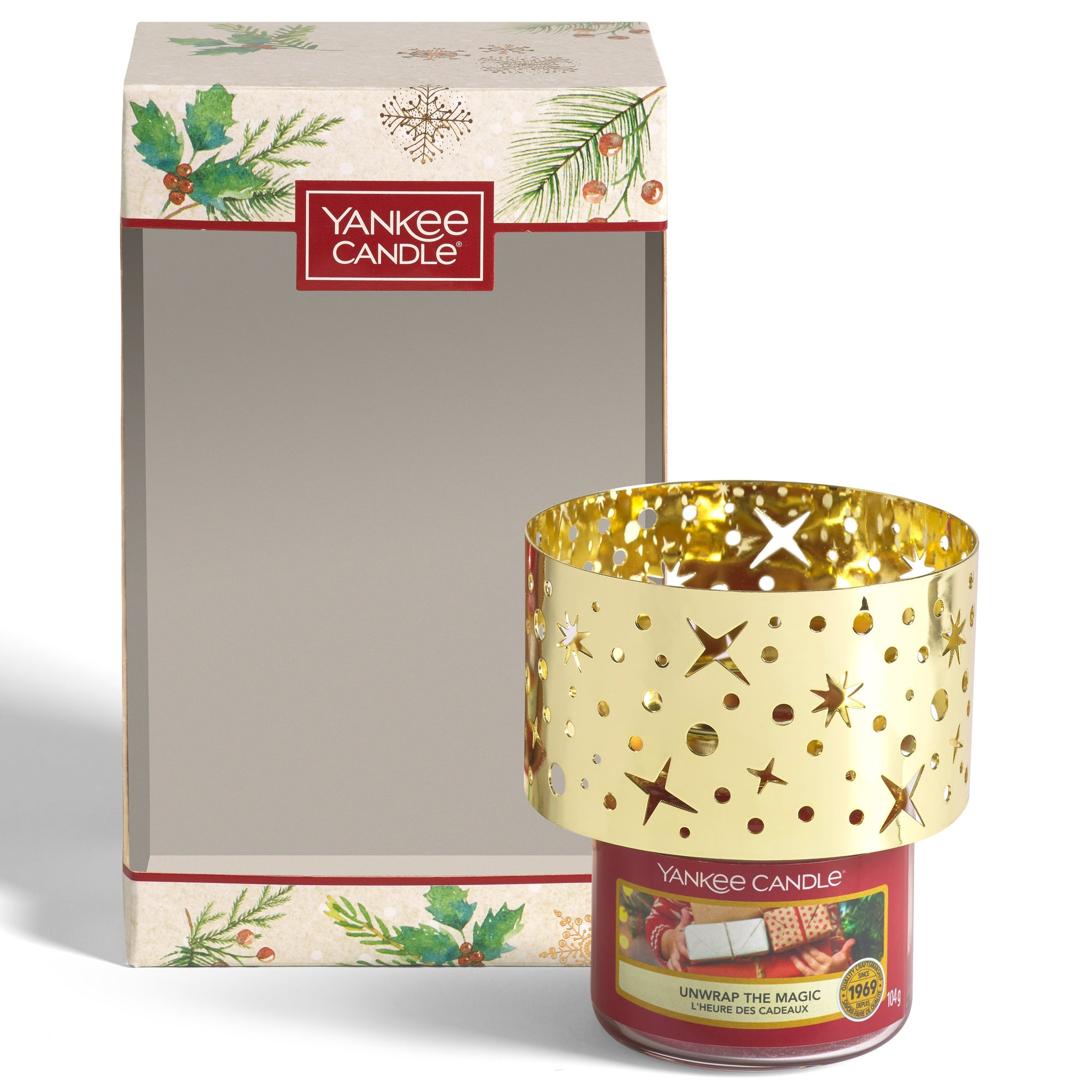 Yankee Candle - Small Jar Candle and Shade Gift Set