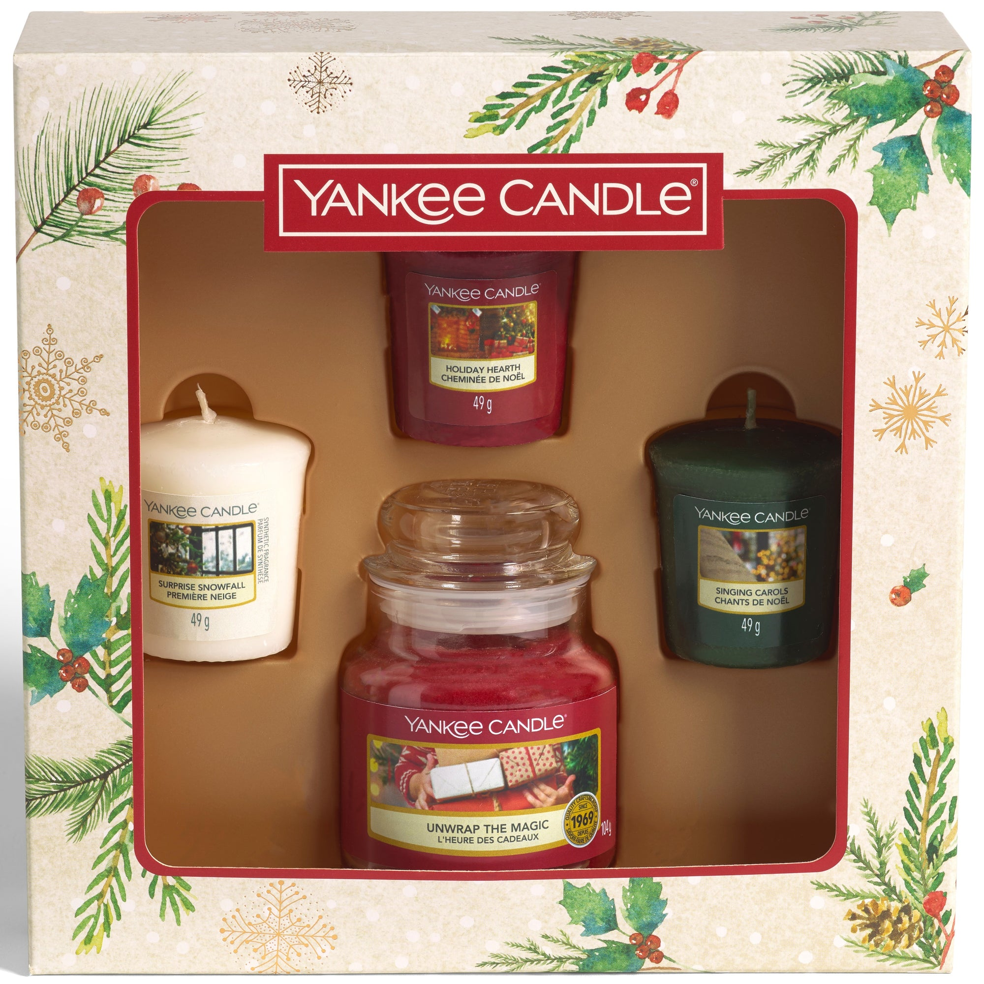 Yankee Candle - Small Jar 3 Votive Candle Gift Set