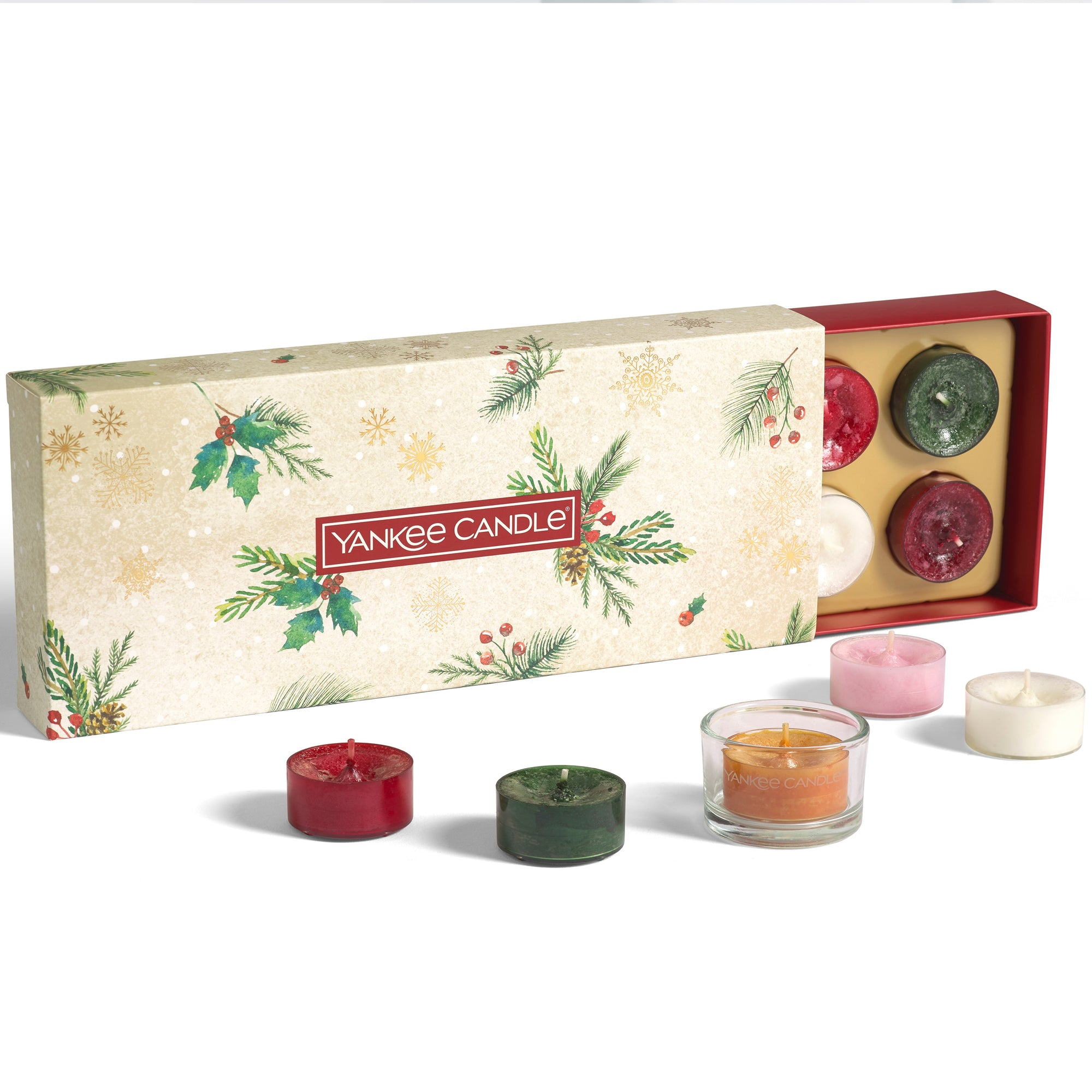 Yankee Candle - 10 Tea Lights, 1 Holder Gift Set