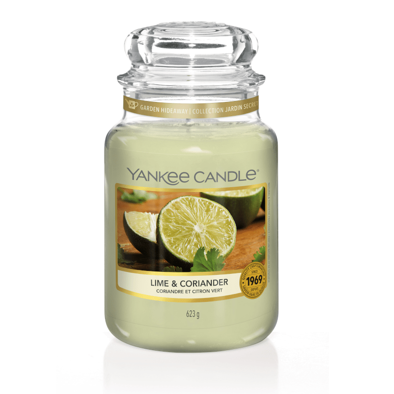 Yankee Candle Large Jar Lime and Coriander