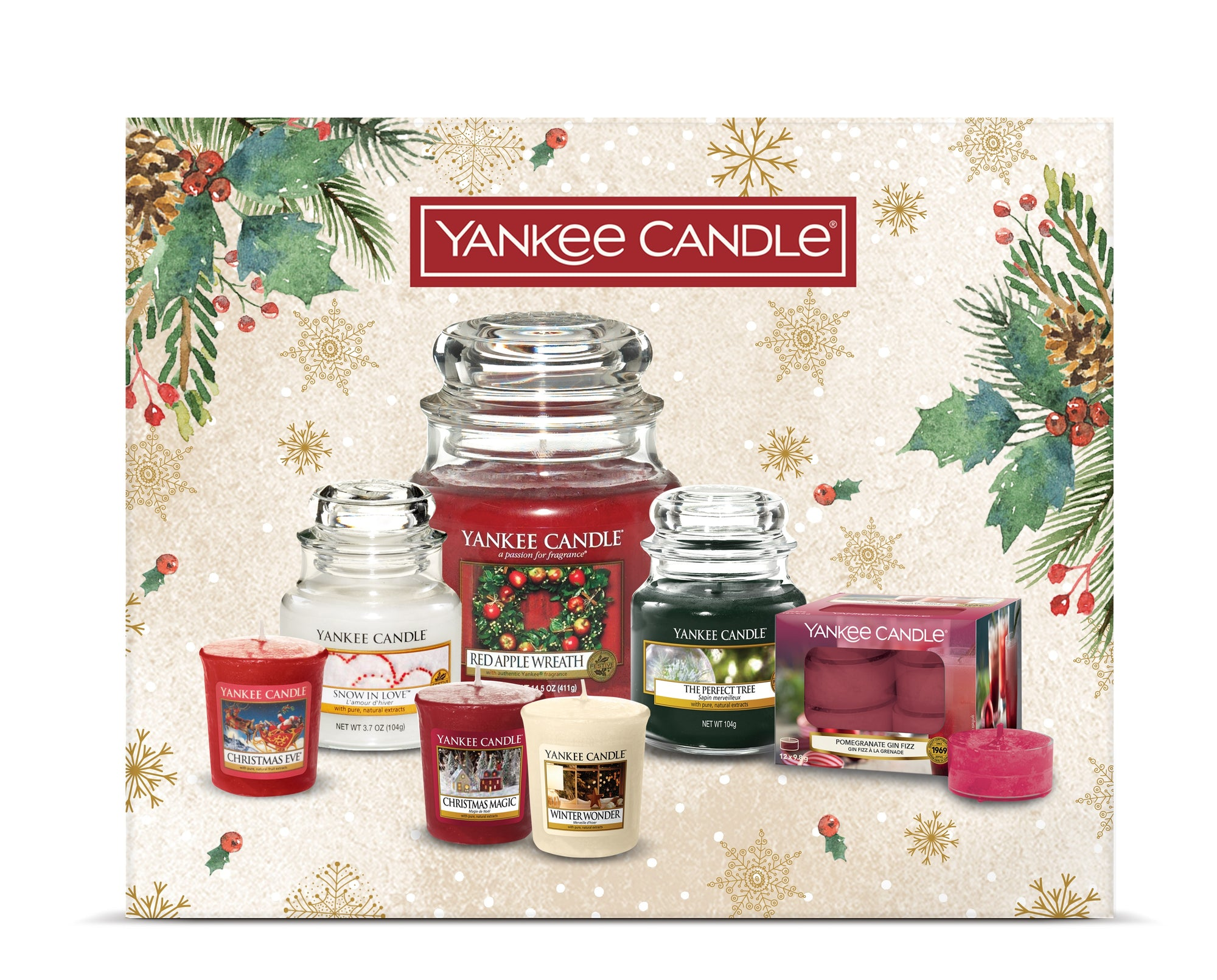 Yankee Candle Christmas WOW Gift set