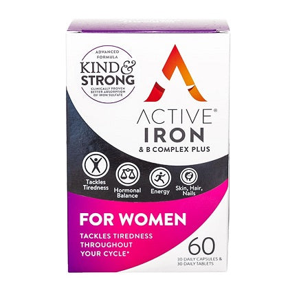 Active Iron & B Complex Plus for Women 60's