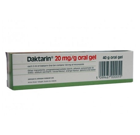 Daktarin 20mg Oral Gel 40g