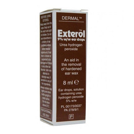 Exterol Ear Drops solution 8ml