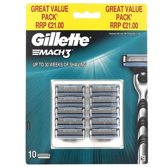 Gillette Mach 3 Big blade pack 1