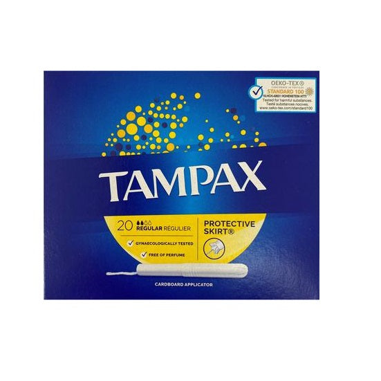 Tampax Regular Blue Box 20s