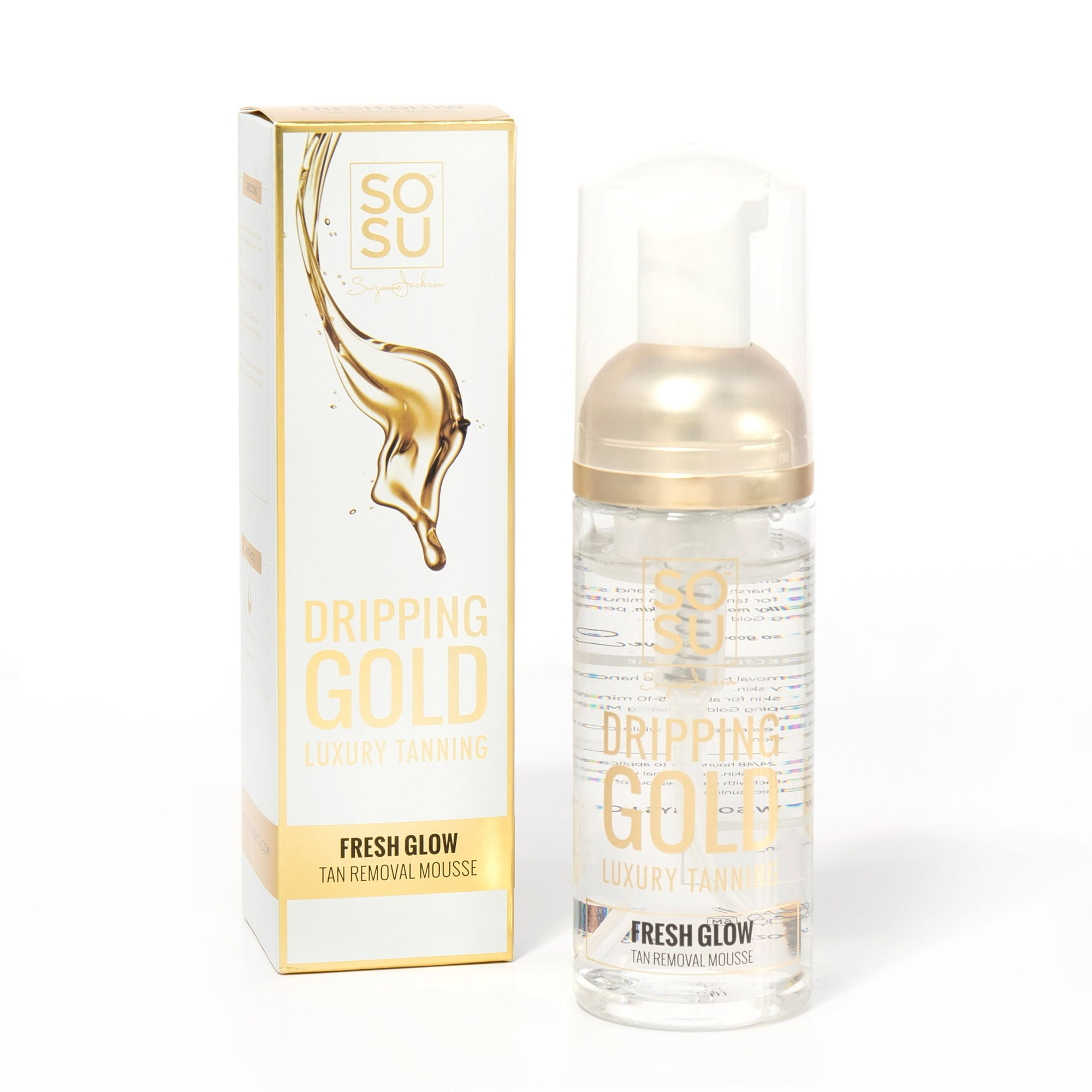 Sosu Dripping Gold Fresh Glow Tan Removal Mousse 150ml