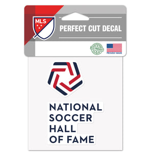 National Soccer Hall of Fame 4x4 Perfect Decal - Soccer90