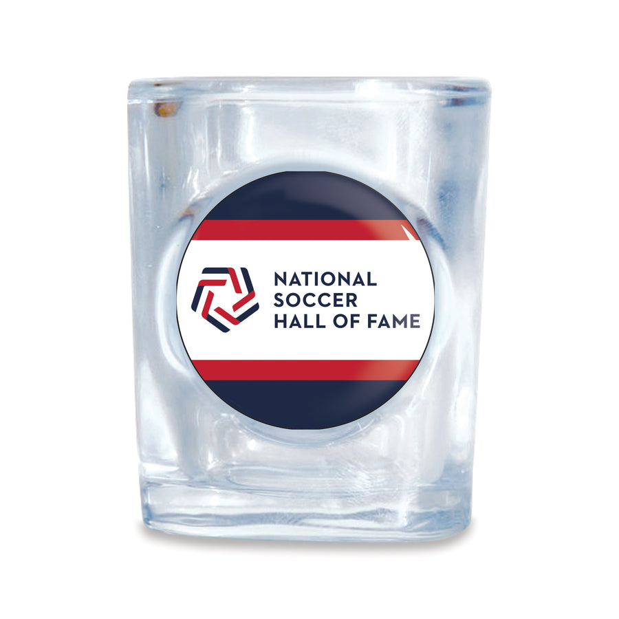 National Soccer Hall of Fame Shot Glass - Soccer 90