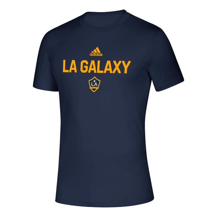 LA Galaxy Team Stacked Tee - Soccer90