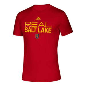 Real Salt Lake Team Stacked Tee - Soccer 90