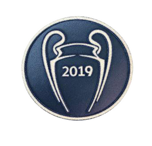 2019 Champions League Trophy Jersey Patch | Liverpool - Soccer90