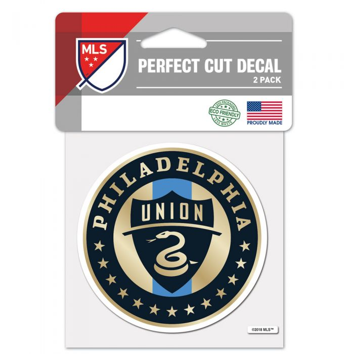 Philadelphia Union 4x4 Decal