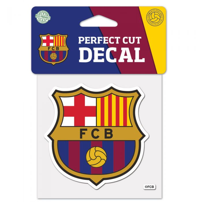 FC Barcelona 4x4 Decal - Soccer90