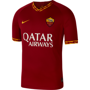 19/20 A.S. Roma Home Stadium Jersey - Soccer90