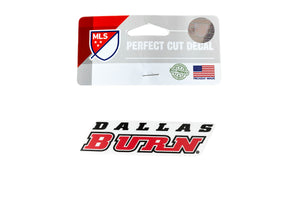 Dallas Burn 4x4 Decal - Soccer90