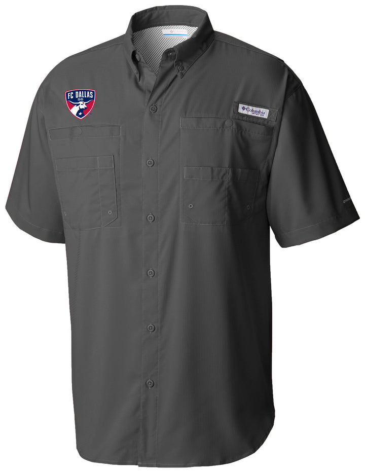FC Dallas Columbia Tamiami Button-Up Shirt - Soccer90
