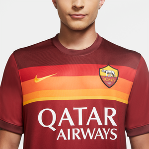 20/21 A.S. Roma Home Stadium Jersey - Soccer90