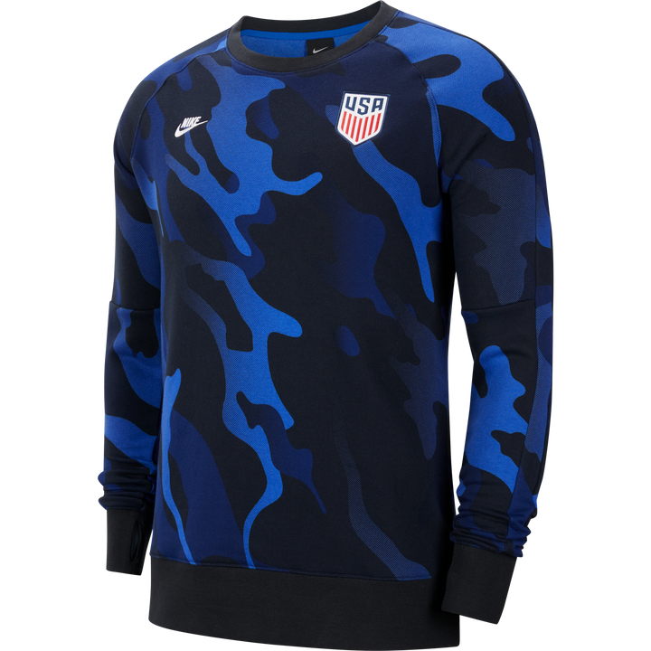 USA Men's Long Sleeve Soccer Crew - Soccer90