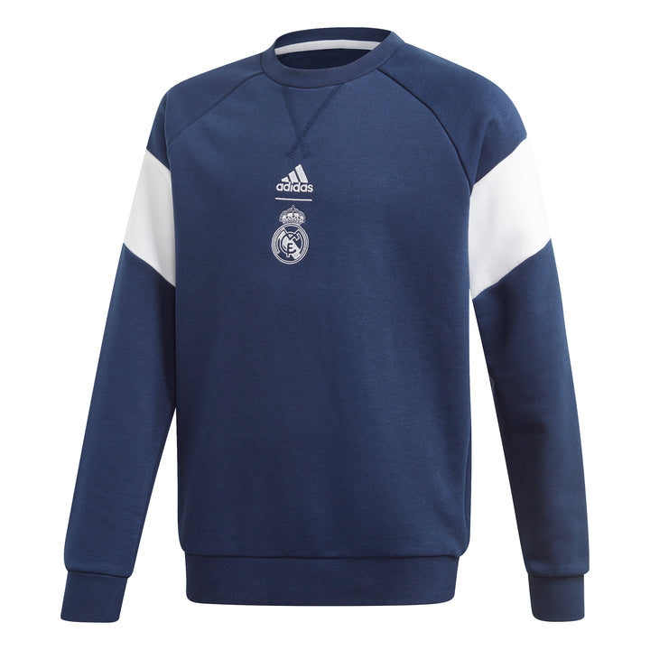 Youth Real Madrid Crew Sweater - Soccer90