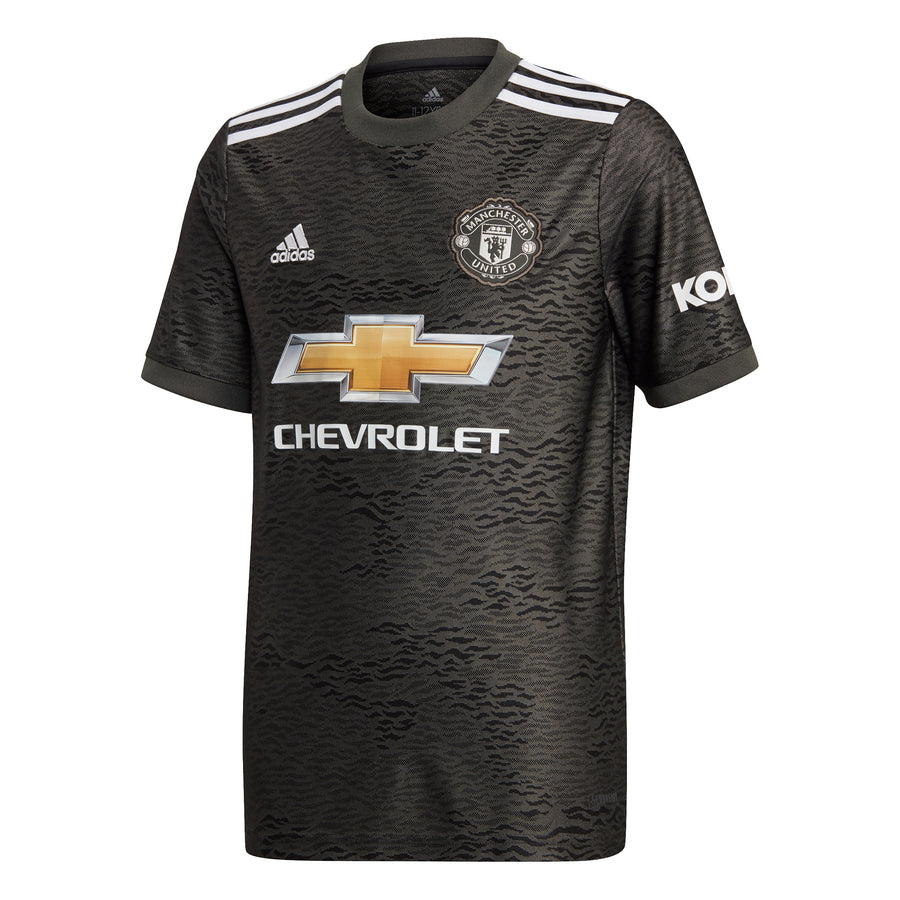 20/21 Manchester United Youth Away Jersey - Soccer90