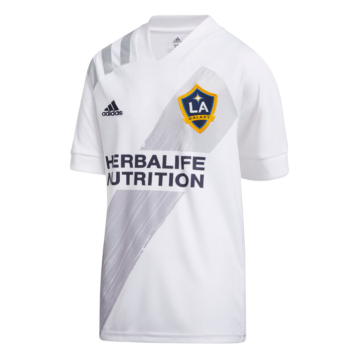 20 LA Galaxy Youth Home Jersey - Soccer90