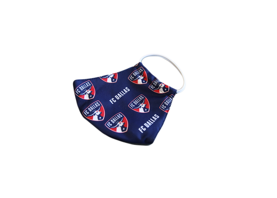 FC Dallas Repeat Logo Mask - Soccer90