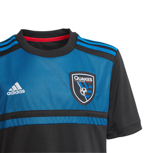 19 Youth San Jose Quakes Home Jersey - Soccer 90