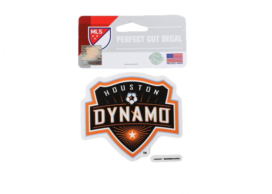 Houston Dynamo 4x4 Decal - Soccer90
