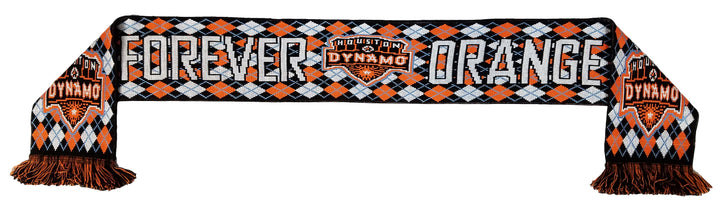 Houston Dynamo Argyle Scarf - Soccer90