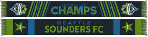 Seattle Sounders 2-Star Scarf - Soccer90