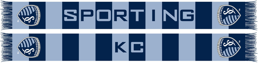 Sporting KC Block Scarf - Soccer90