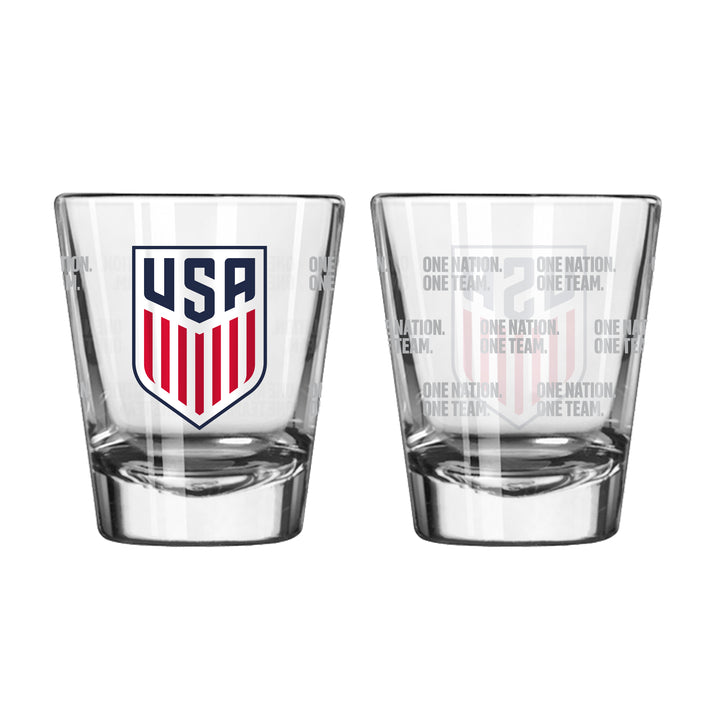 USA Shot Glass - Soccer90