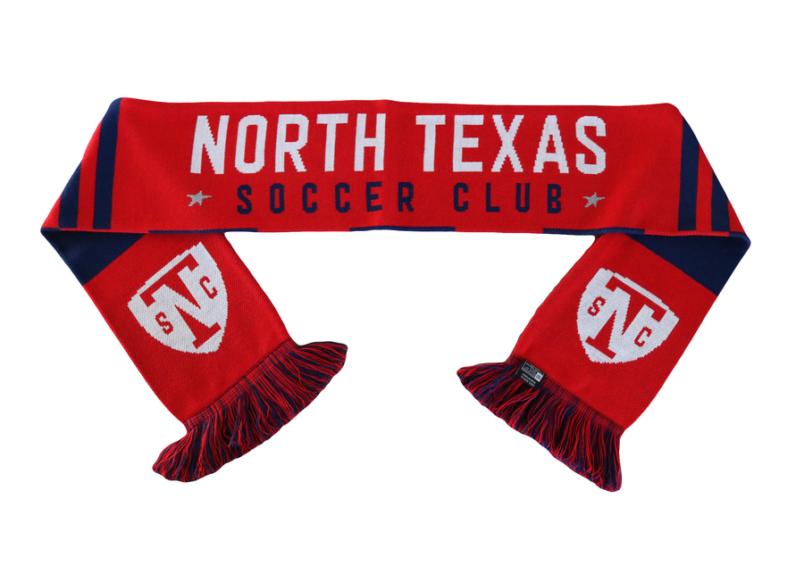 North Texas SC Fan Scarf - Soccer90