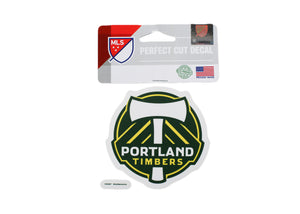 Portland Timbers 4x4 Decal - Soccer90