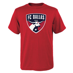 FC Dallas Youth Primary Logo Tee - Soccer90